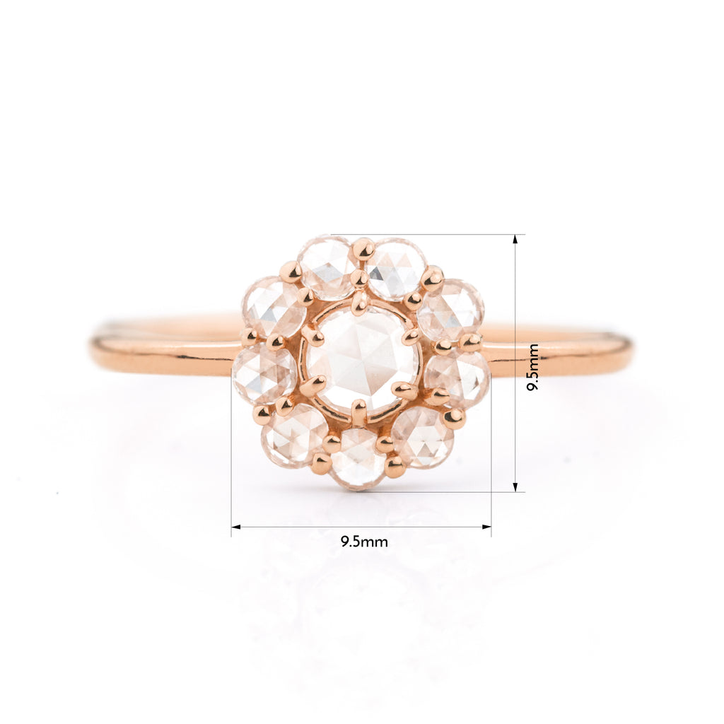 Victoria Diamond Ring by Jamie Park Jewelry