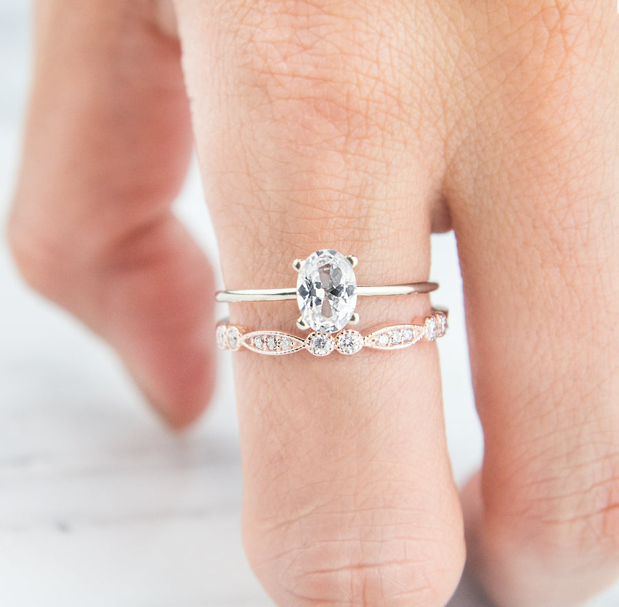 Affordable wedding ring by Jamie Park Jewelry