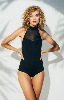ANKARA ONE-PIECE SWIMSUIT IN BLACK -                                         STYLE SUITE