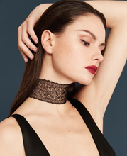 EXCLUSIVE - TRIM BLACK LACE CHOKER by Jessica Choay -                                         STYLE SUITE