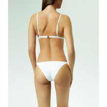 SEONA - WHITE BEADED CUT-OUT BIKINI TOP -                                         STYLE SUITE