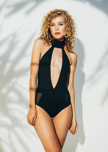 LYSA ONE-PIECE SWIMSUIT IN BLACK -                                         STYLE SUITE