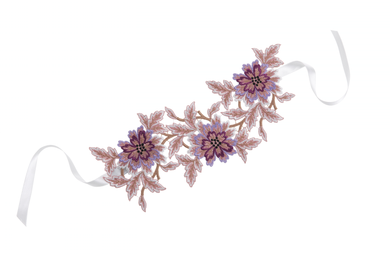 FLOWER LACE CHOKER by Jessica Choay -                                         STYLE SUITE