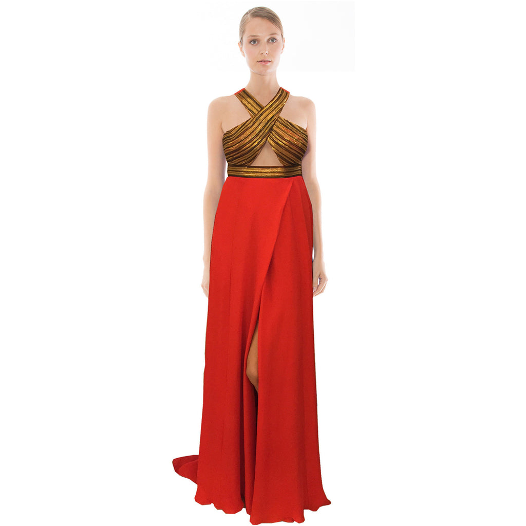 POMPEII GOWN - RED -                                         STYLE SUITE
