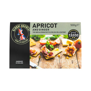 Apricot & Ginger Set Fruit Conserve 500g