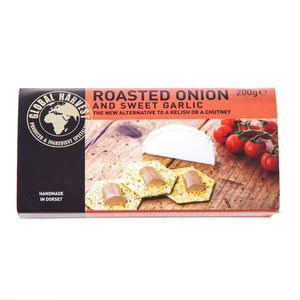 Roasted Onion & Sweet Garlic Set Fruit Conserve 200g