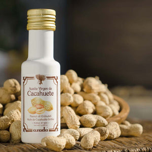 Peanut Oil 100ml (First cold pressed of lightly Roasted Peanuts)