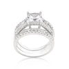 FOREVER WEDDING RING SET