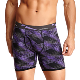 New Balance Men's athletic Active Performance Boxer Briefs Photoprint Colors