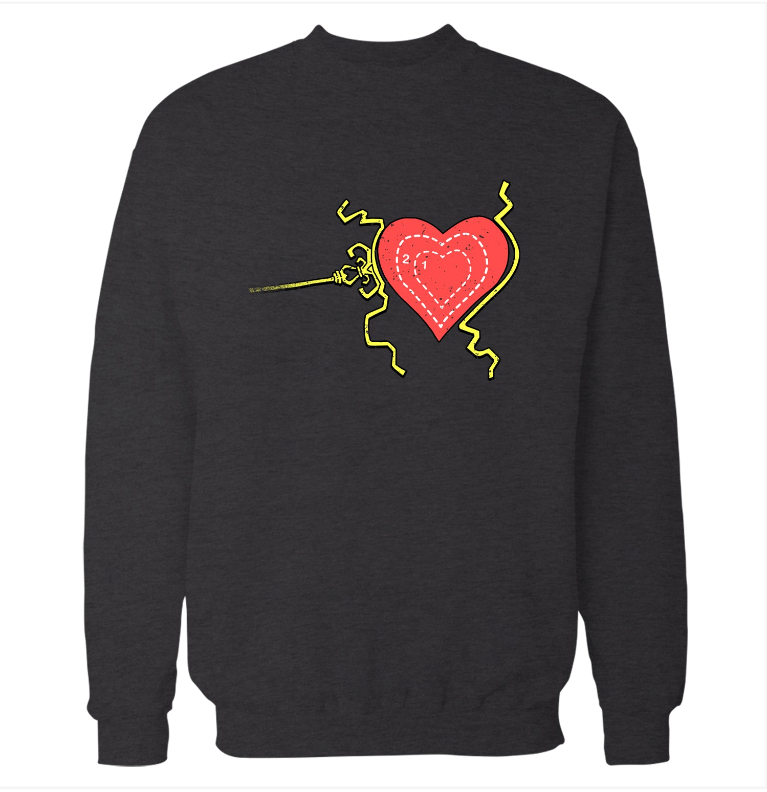 Grinch Heart How The Grinch Stole Christmas Sweatshirt Fun Times