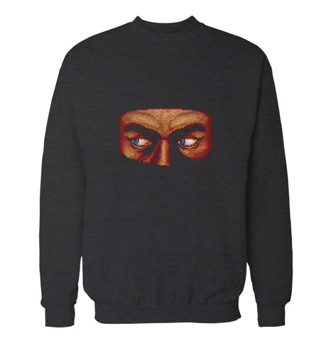 8-Bit Game Ninja 'Shinobi' Sweatshirt