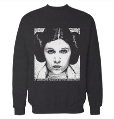 A Woman's Place Sweatshirt