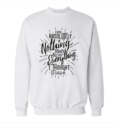Absolutely Nothing 'Office Space' Sweatshirt