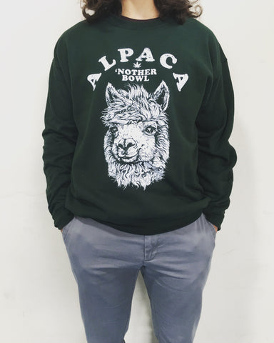 Alpaca Bowl Sweatshirt
