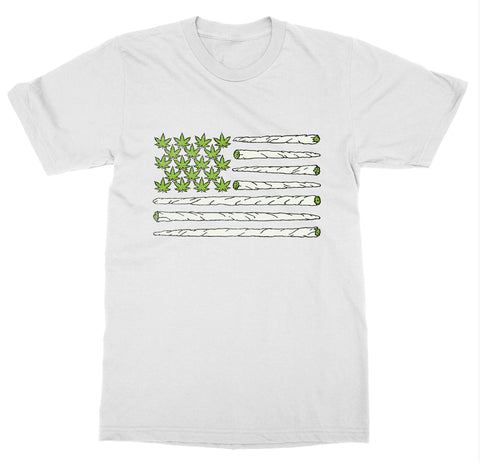 American Weed Flag T-Shirt