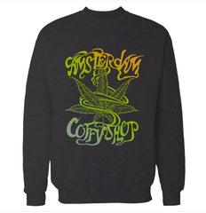 Amsterdam, Netherlands 'Coffee Shop' Sweatshirt