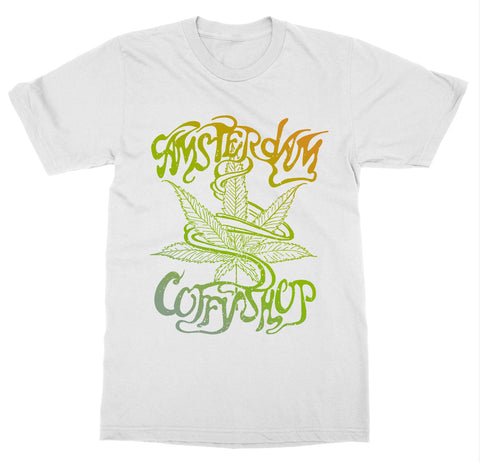 Amsterdam, Netherlands 'Coffee Shop' T-Shirt