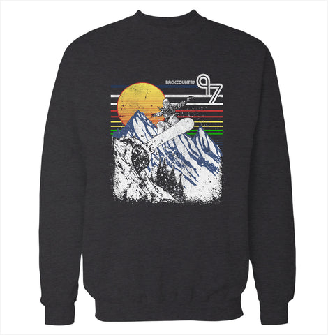 Backcountry 'Snowboarding' Sweatshirt