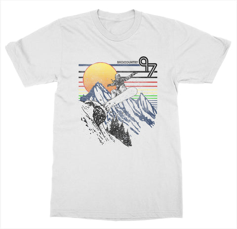 Backcountry 'Snowboarding' T-Shirt