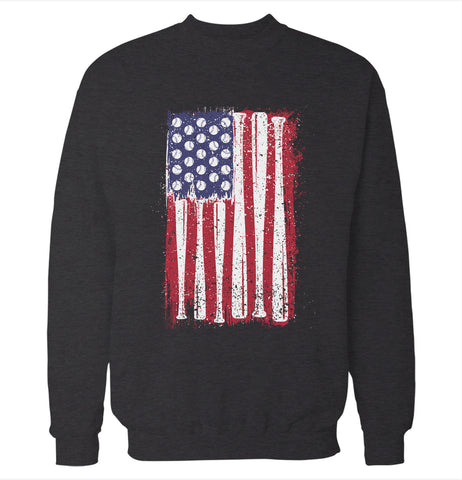 Baseball Flag 'Baseball' Sweatshirt