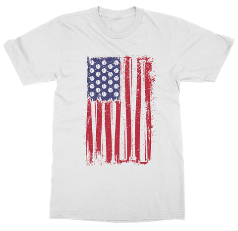 Baseball Flag 'Baseball' T-Shirt