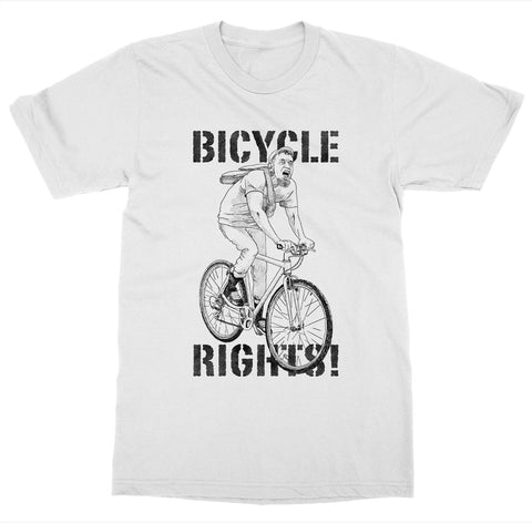 Bicycle Rights 'Biking' T-Shirt