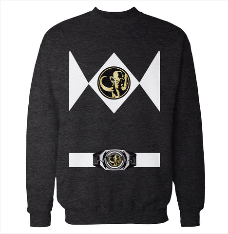 Black Power Ranger Costume Sweatshirt