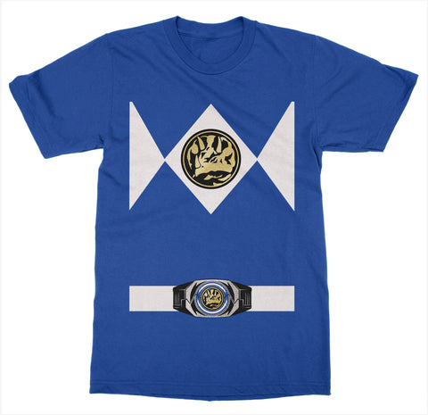 Blue Power Ranger Costume T-Shirt