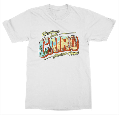 Cairo 'Ancient Egypt' T-Shirt