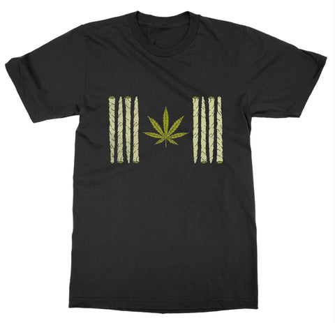 Canadian Weed Flag T-Shirt