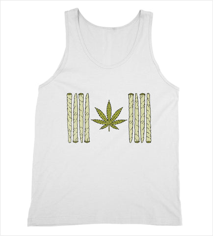Canadian Weed Flag Tank