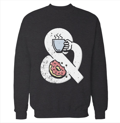 Coffee and Donuts Sweatshirt