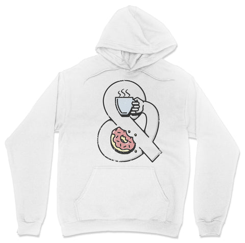 Coffee and Donuts Hoodie