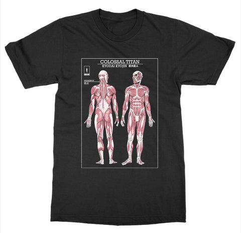 Colossal Titan 'Attack on Titan' T-Shirt