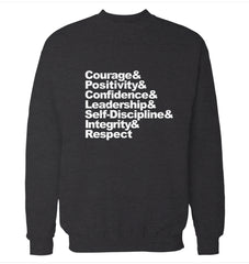 Courage 'Martial Arts' Sweatshirt