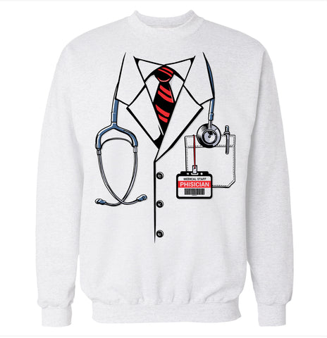 Doctor Costume Sweatshirt