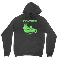 Deal with it Lizard Hoodie