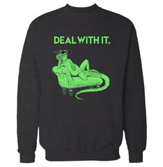 Deal with it Lizard Sweatshirt