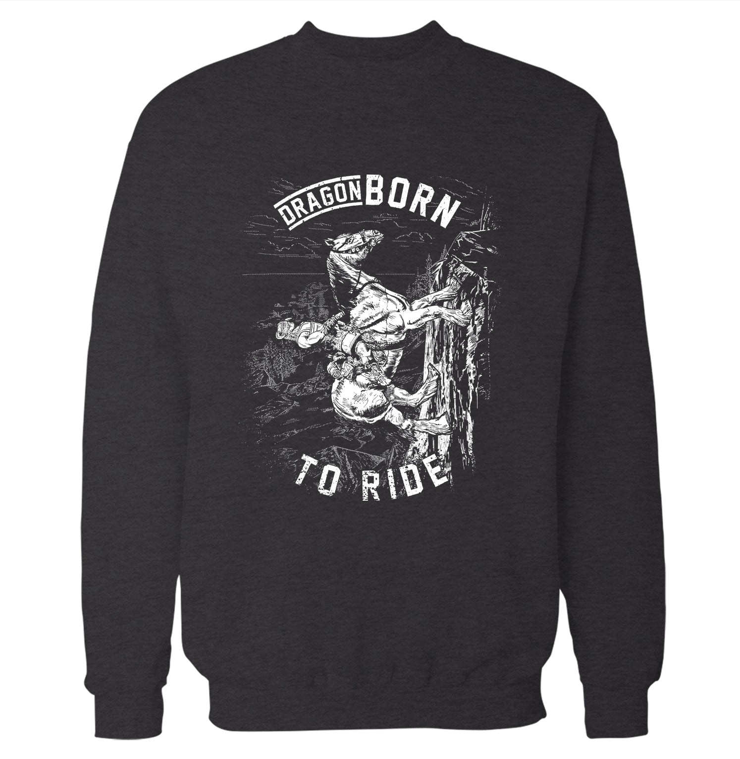 3d1f79bf Dragonborn to Ride 'Skyrim' Sweatshirt – Fun Times Tees