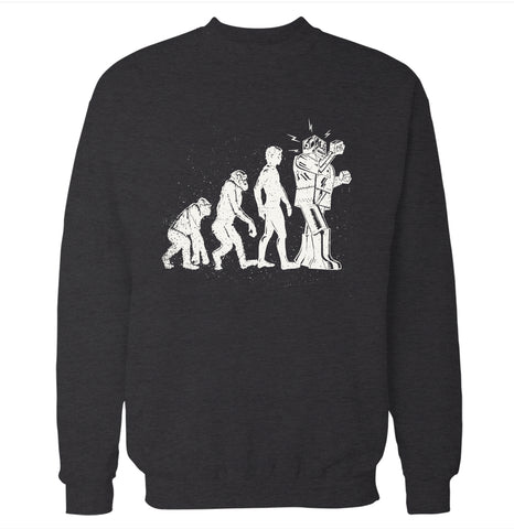 Evolution Robot Sweatshirt