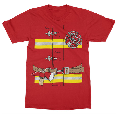 Firefighter Costume T-Shirt