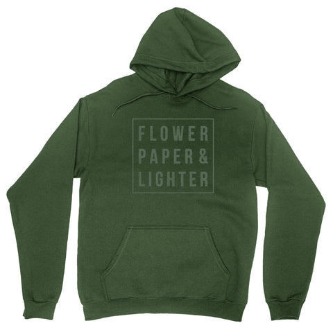 Flower Paper Lighter Hoodie
