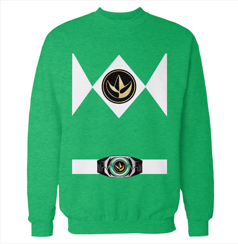 Green Power Ranger Costume Sweatshirt