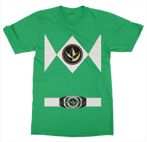 Green Power Ranger Costume T-Shirt