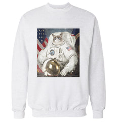 Grumpy Cat Space Explorer Sweatshirt