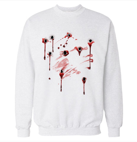 Gunshot Costume Sweatshirt