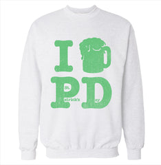 I Beer St. Patrick's Day Sweatshirt
