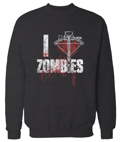 I Crossbow Zombies 'The Walking Dead' Sweatshirt