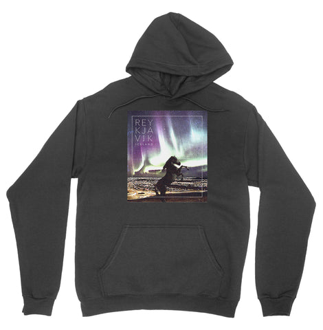 Reykjavik, Iceland 'Northern Lights' Hoodie
