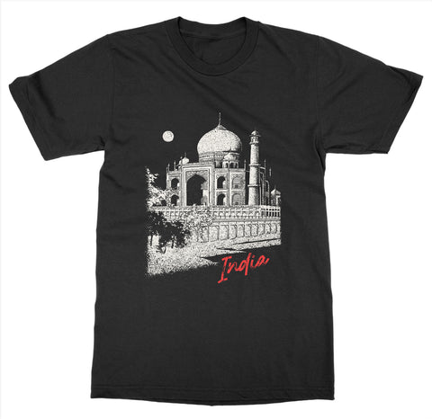 India 'Taj Mahal' T-Shirt